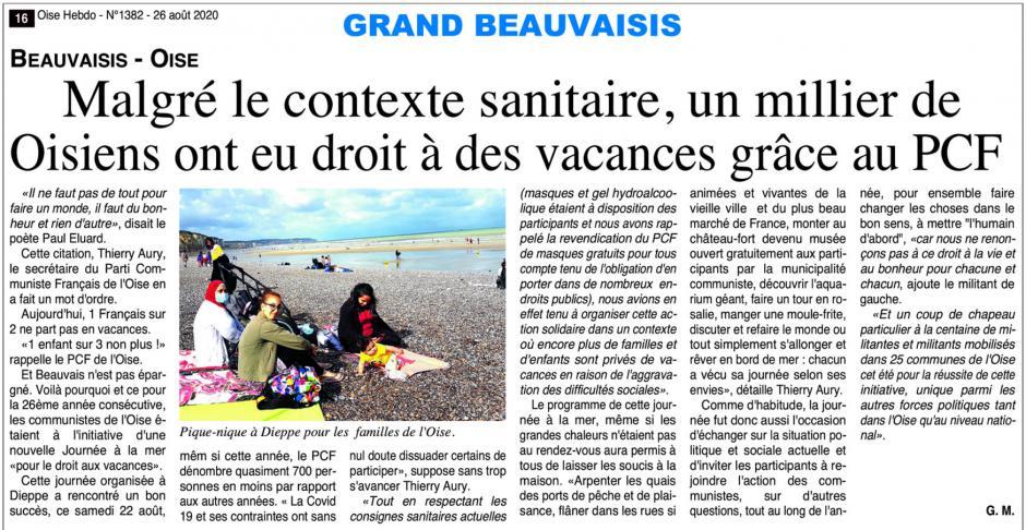 20200826-OH-Oise-Malgré le contexte sanitaire, un millier de Oisiens ont eu droit à des vacances grâce au PCF
