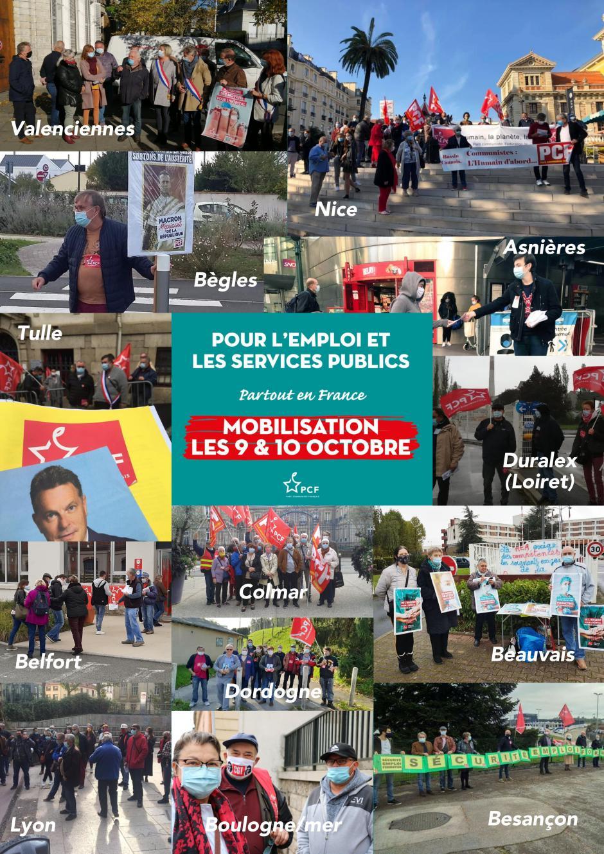 9 et 10 octobre : succès des journées nationales d'actions du PCF pour sécuriser l'emploi