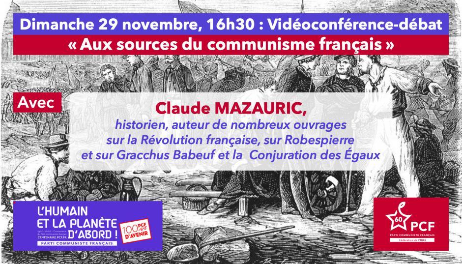 Centenaire du PCF : « Aux sources du communisme français », avec Claude Mazauric