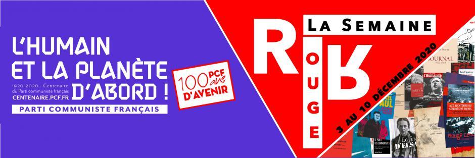 La Semaine Rouge : les ouvrages de notre librairie en ligne spéciale « Centenaire du PCF - 100 ans d'avenir »