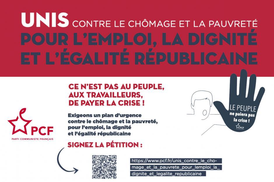 5 au 11 décembre, France - Unis contre le chômage et la précarité, pour l'emploi, la dignité et l'égalité républicaine