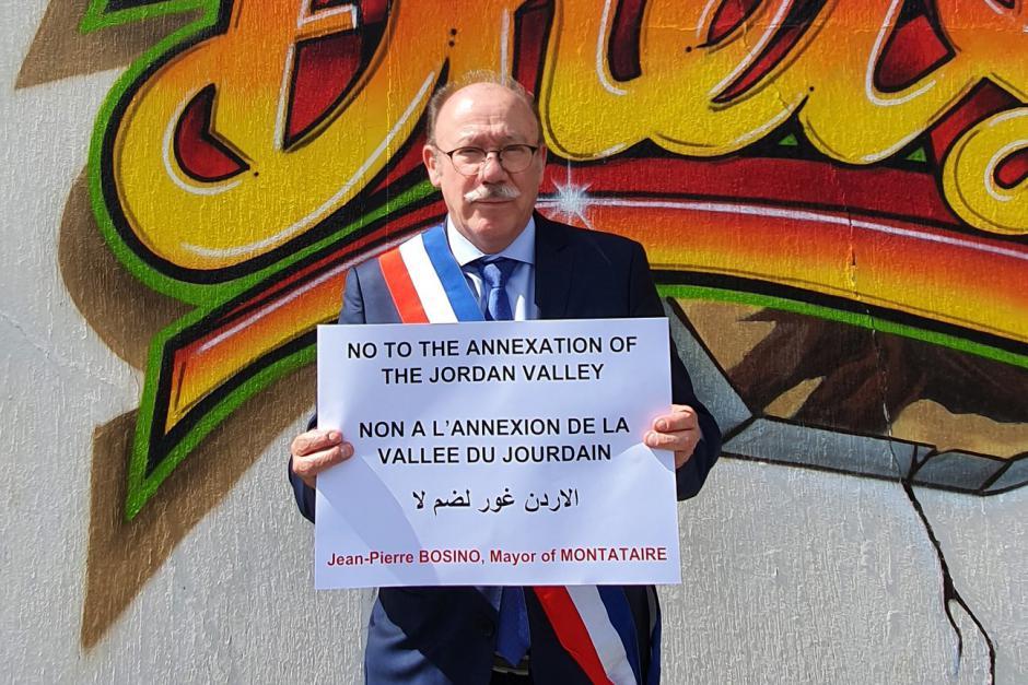 Solidarité avec Kardala, non à l'annexion de la vallée du Jourdain - Montataire, 14 décembre 2020