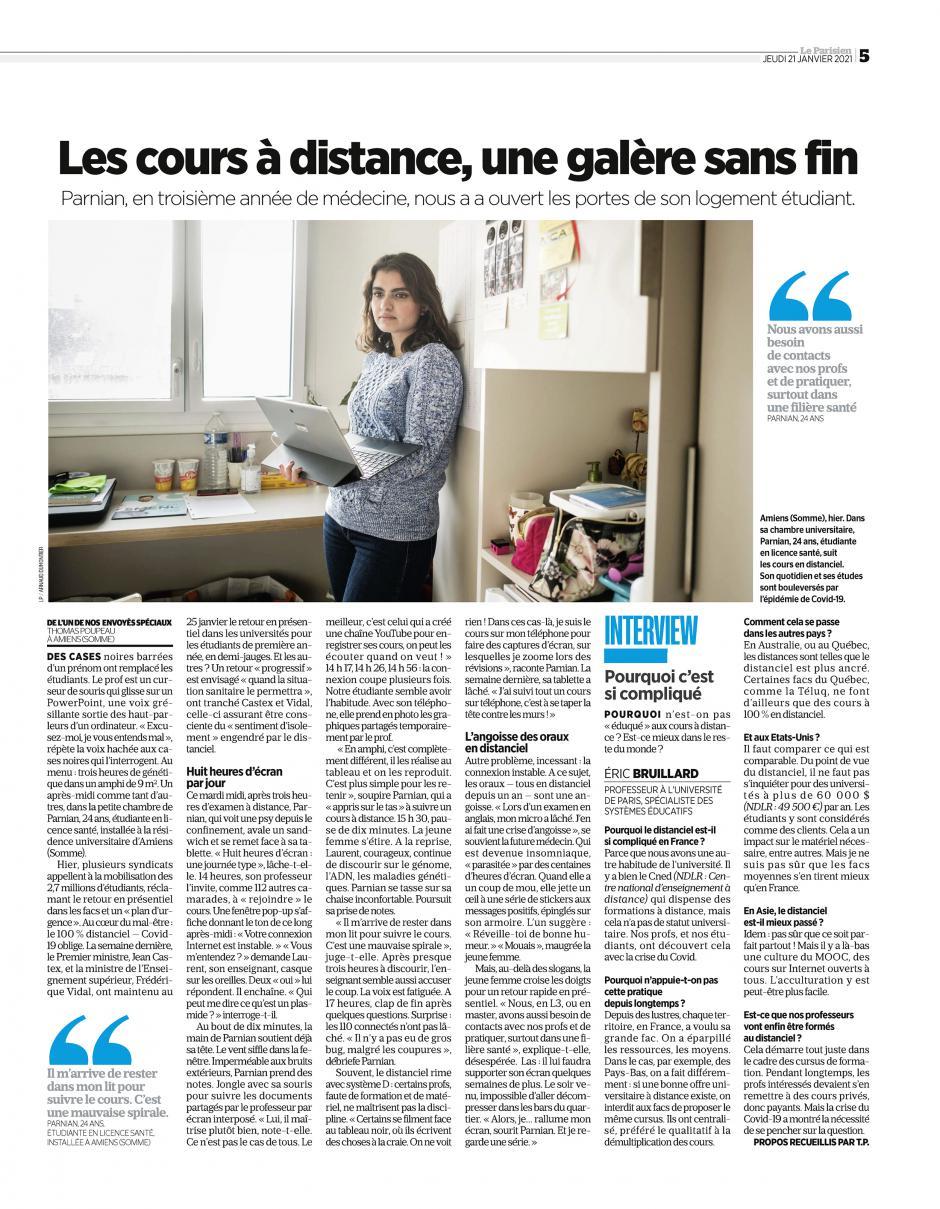 20210121-LeP-Amiens-Les cours à distance, une galère sans fin [Pages nationales]