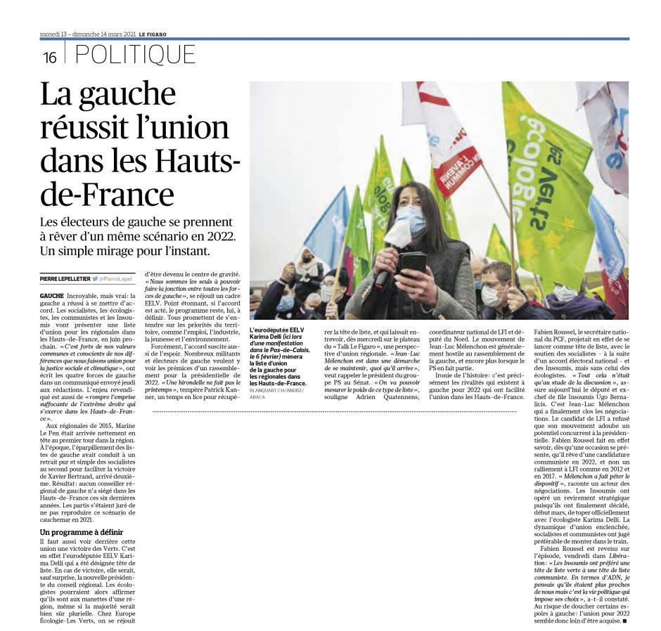 20210313-LeFig-Hauts-de-France-R2021-La gauche réussit l'union dans la région