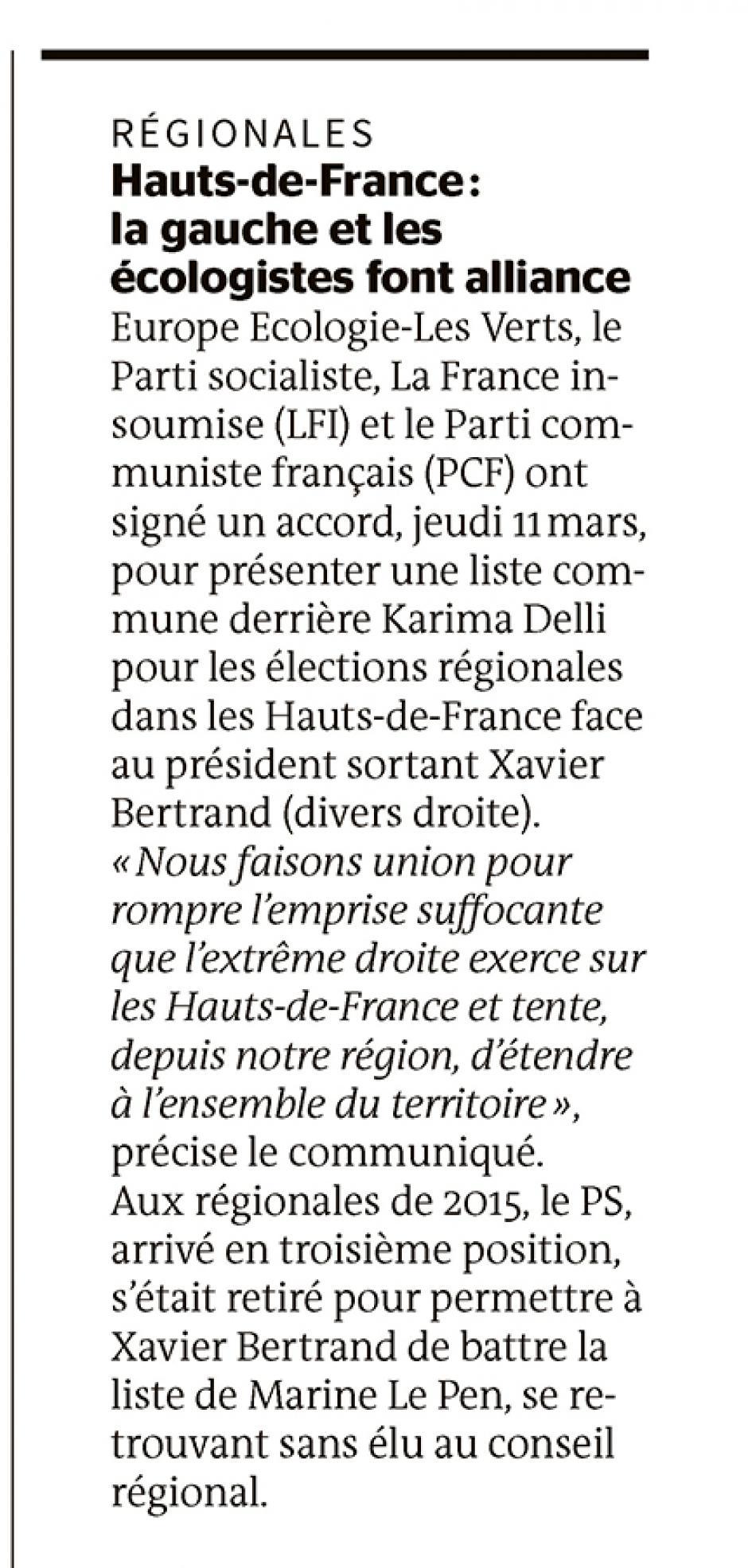 20210313-LeM-Hauts-de-France-R2021-La gauche et les écologistes font alliance