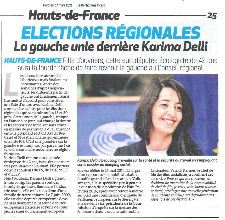 20210317-BonP-Hauts-de-France-R2021-La gauche unie derrière Karima Delli