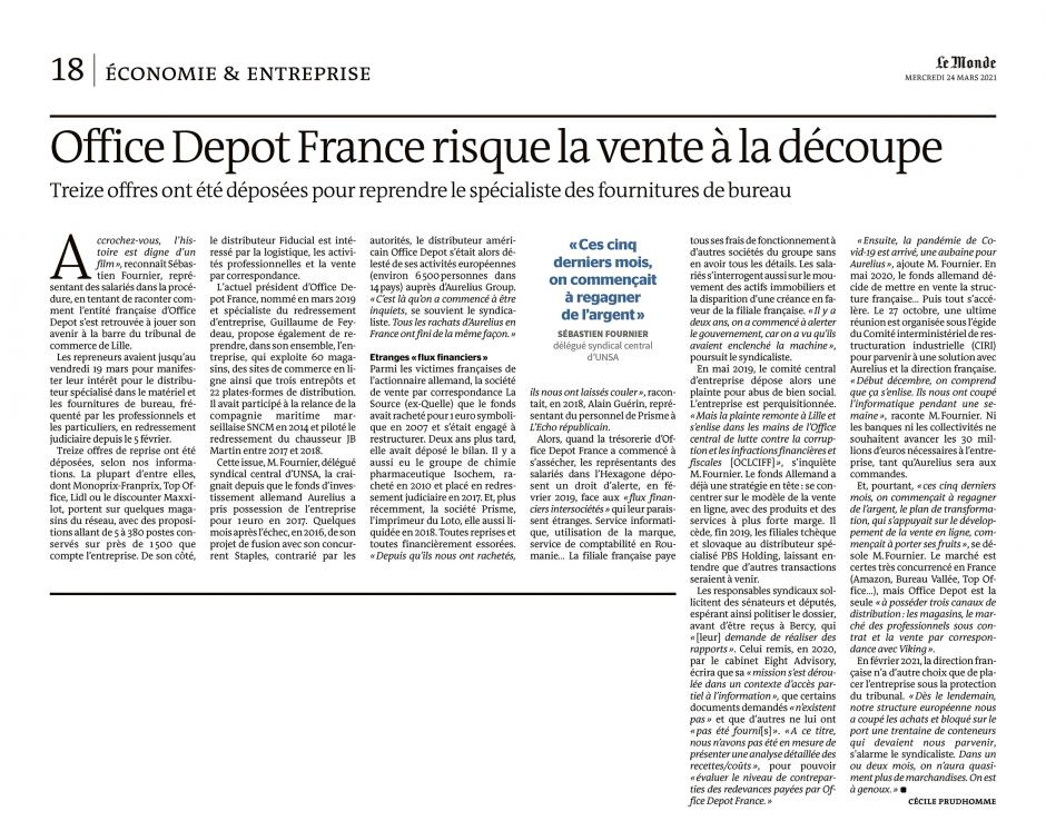 20210324-LeM-France-Office Depot France risque la vente à la découpe