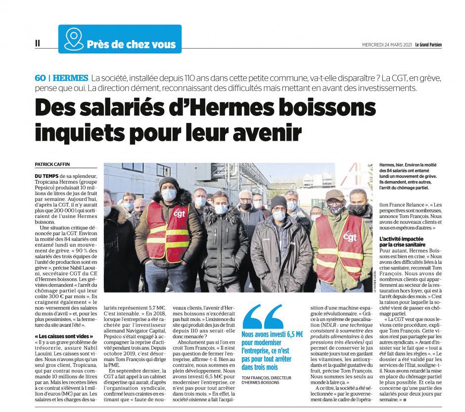 20210324-LeP-Hermes-Des salariés d'Hermes Boissons inquiets pour leur avenir