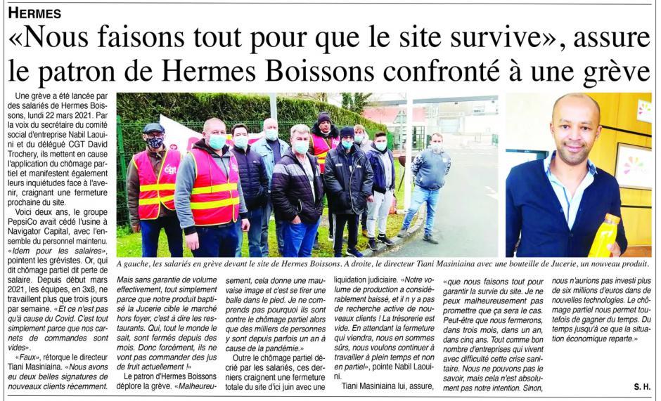 20210324-OH-Hermes-« Nous faisons tout pour que le site survive », assure le patron de Hermes Boissons confronté à une grève