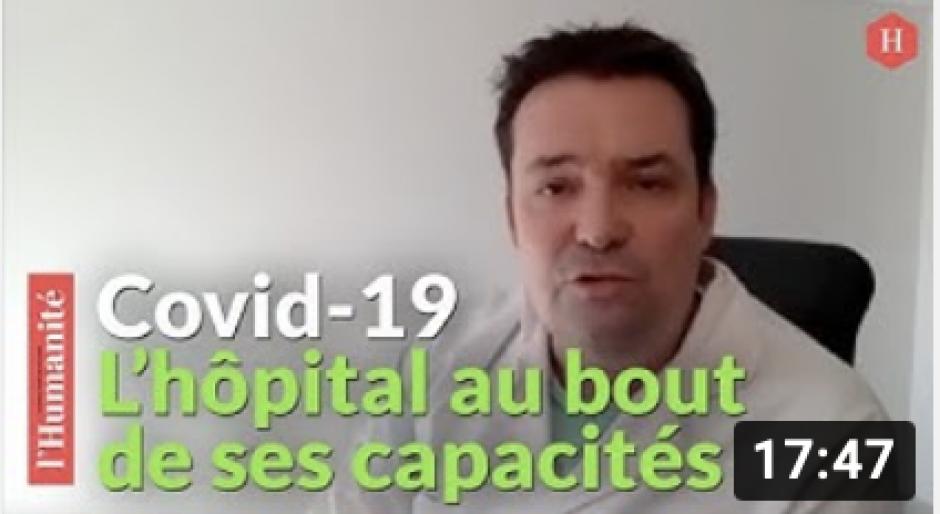 Covid-19 : « On va devoir faire le tri des patients » alerte Loïc Pen, médecin urgentiste à Creil - 29 mars 2021