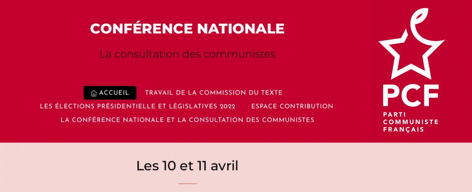 10 & 11 avril, France - Conférence nationale des communistes
