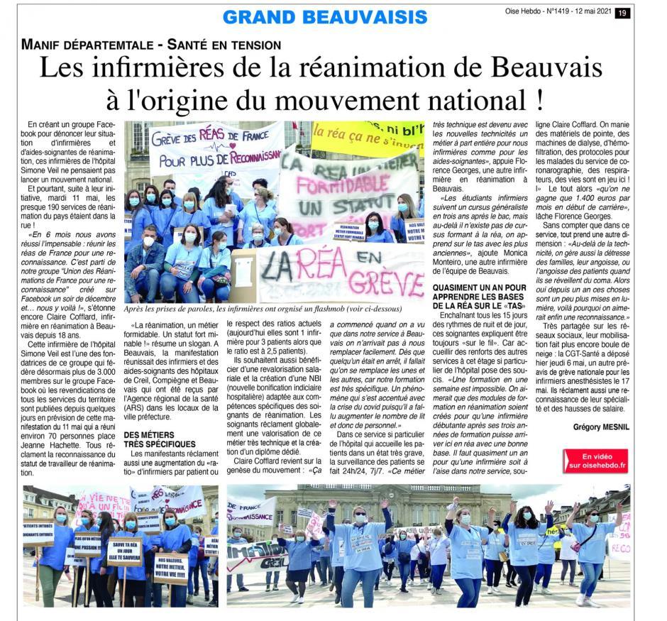 20210512-OH-Beauvais-Les infirmières de la réanimation de Beauvais à l'origine du mouvement national !