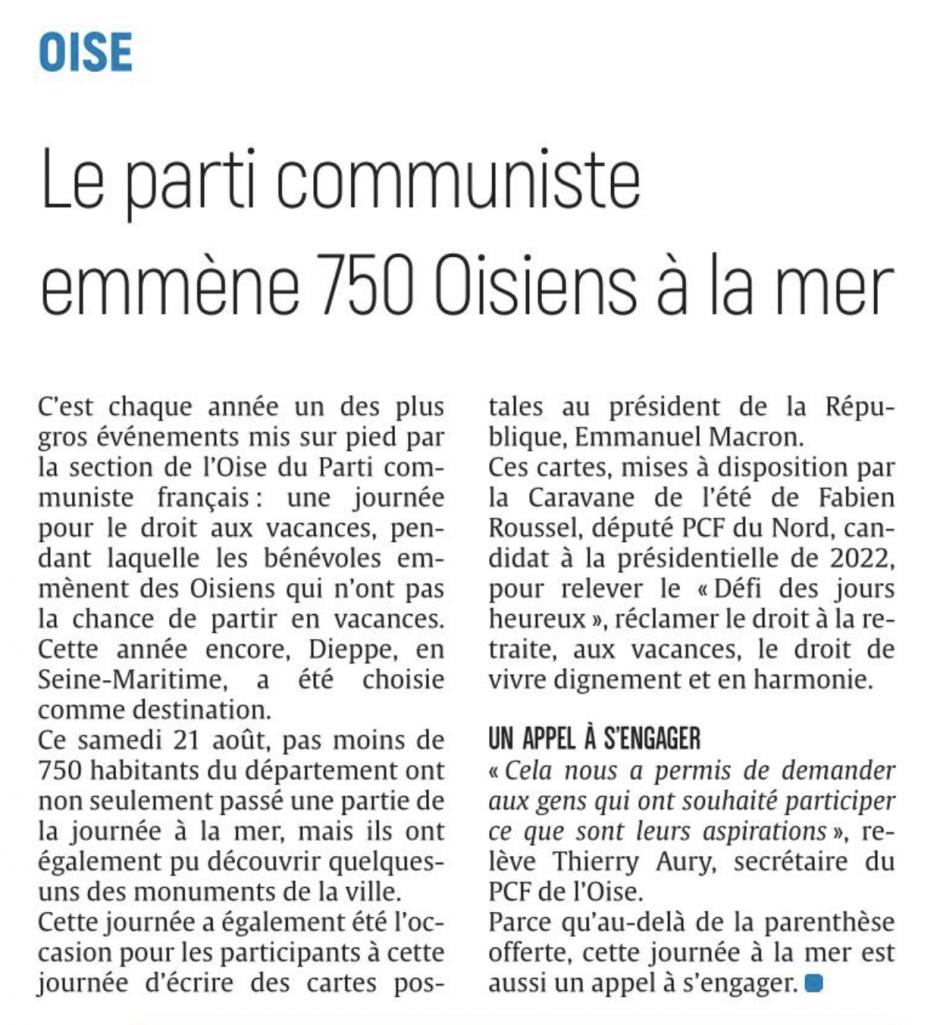 20210823-CP-Oise-Le Parti communiste emmène 750 Oisiens à la mer