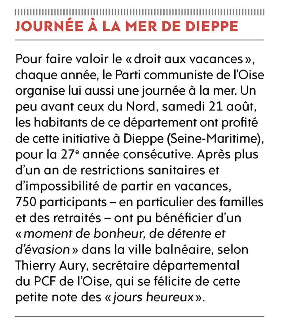 20210827-L'Huma-Oise-Journée à la mer de Dieppe