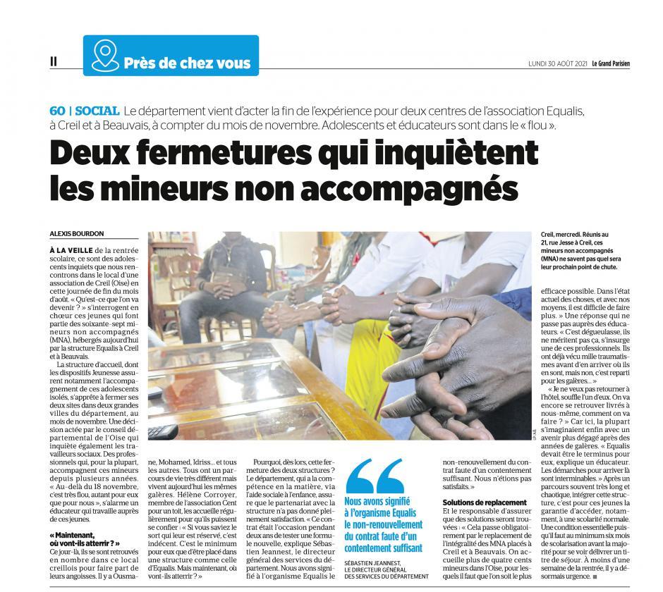 20210830-LeP-Beauvais-Creil-Deux fermetures qui inquiètent les mineurs non accompagnés