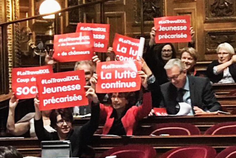 Sénat : seul le groupe CRC défend des choix alternatifs aux logiques d'austérité