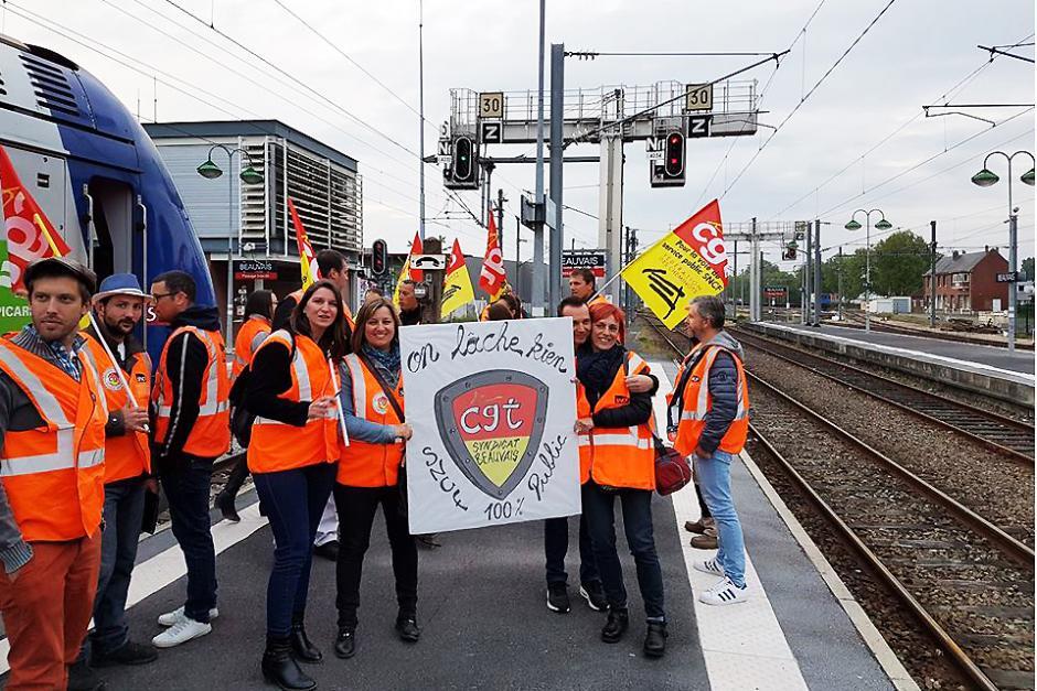 Les cheminots ne lâchent rien ! - Oise, 14 mai 2018