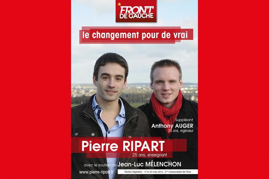 Communiqué des candidats du Front de gauche Pierre Ripart et Anthony Auger - 17 mars 2013