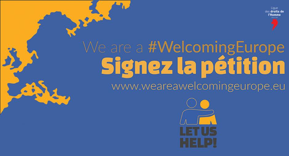 Initiative citoyenne européenne (ICE) pour une politique migratoire accueillante