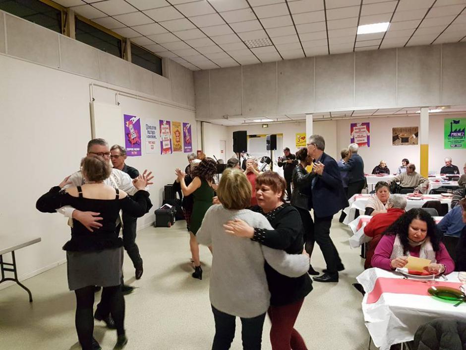 Belle ambiance au repas de la Fraternité ! - Beauvais, 24 février 2018