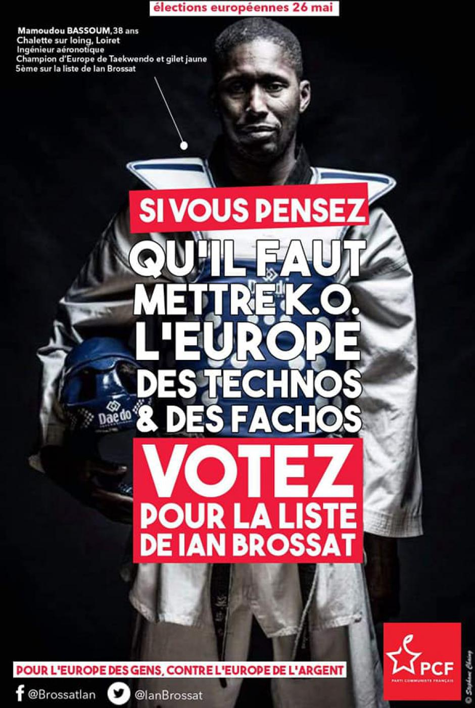 27 avril, Beauvais - Européennes 2019 : journée d'initiatives avec Mamoudou Bassoum
