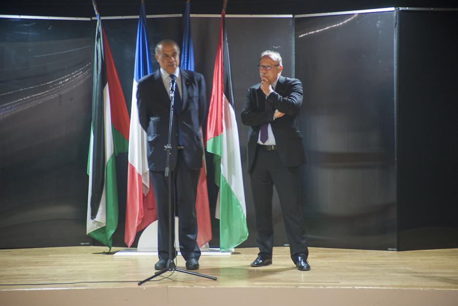 Remise de la citoyenneté d'honneur palestinienne à Jean-Pierre Bosino-2/2-Prise de parole de Salman El Herfi - Montataire, 29 avril 2017
