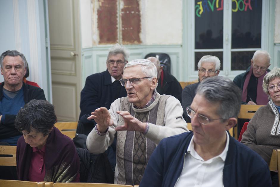 Espace Marx60 « Vieillissement, autonomie, Ehpad »-5/6-Débat - Saint-Maximin, 22 février 2018