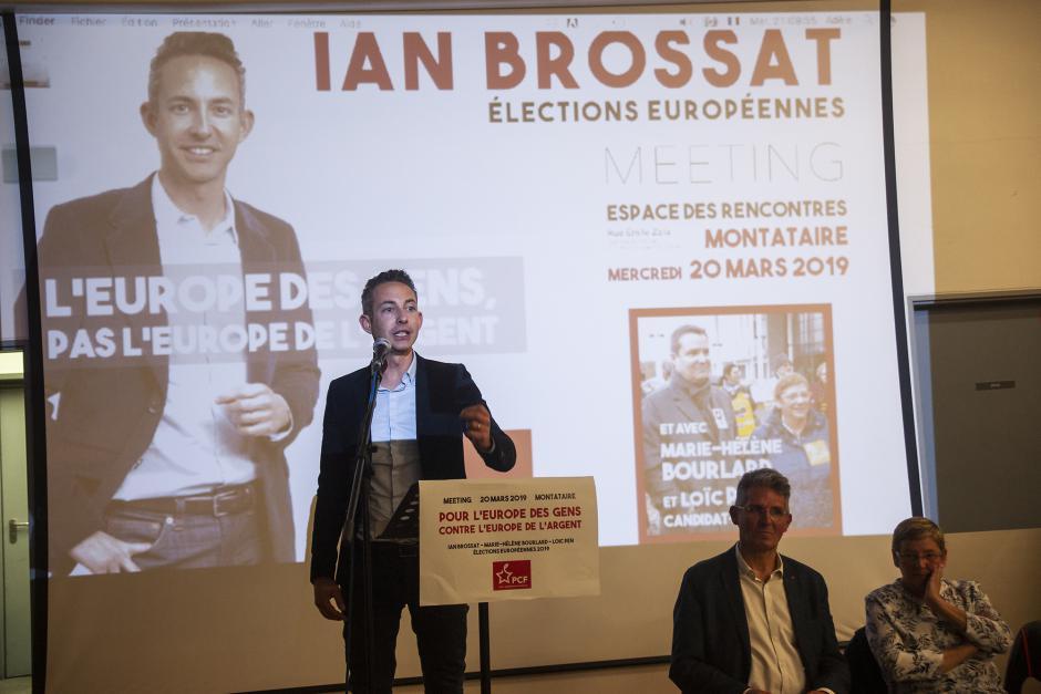 Belle affluence au meeting de la liste conduite par Ian Brossat, pour faire bouger l'Europe ! - Montataire, 20 mars 2019
