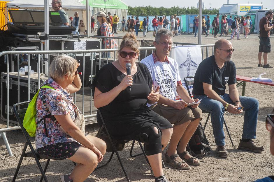 Débat « Les transports en commun du quotidien : un enjeu social et environnemental » - Espace Pays-du-Nord, Fête de l'Humanité, 14 septembre 2019