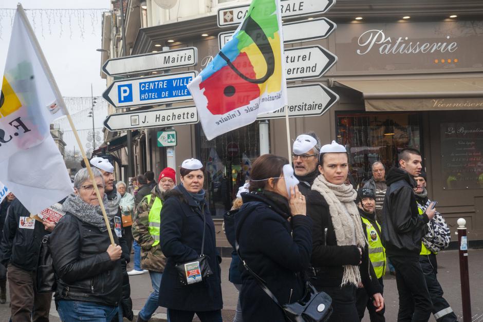 Démasquons la casse sociale du projet de réforme Macron des retraites ! - Beauvais, 28 décembre 2019