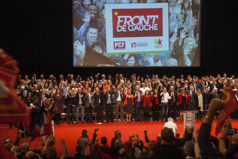 Meeting de présentation de la liste « l'humain d'abord » - Lille, 3 octobre 2015