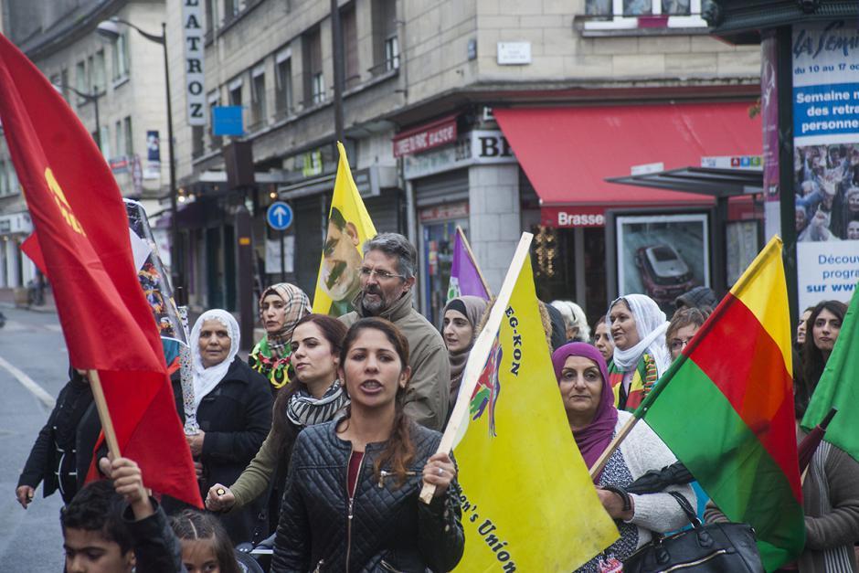 Solidarité avec les progressistes et démocrates kurdes, stop à la répression, arrêt de la coopération d'Hollande avec Erdogan ! -