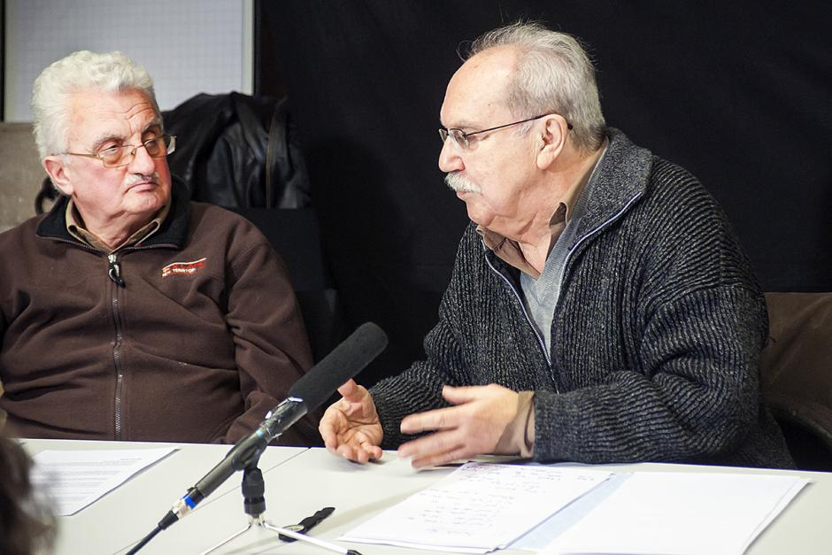 René Mouriaux présente l'approche marxiste des gauches françaises partidaires en 2013 - Saint-Maximin, 15 février 2013