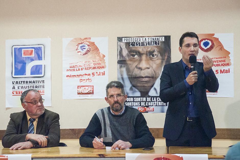 Le Front de gauche veut le mouvement perpétuel - Saint-Maximin, 19 avril 2013