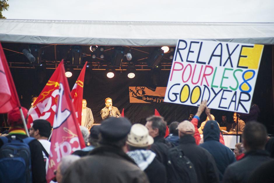Les 8 de Goodyear : on lâche rien jusqu'à la relaxe ! - Amiens, 19 octobre 2016