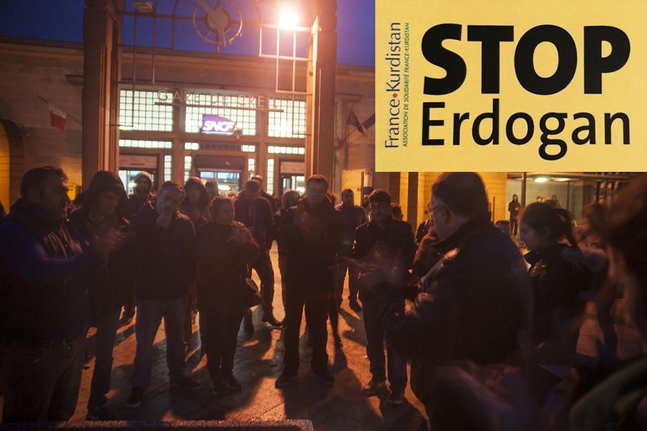 Solidarité avec les députés HDP et les élus locaux kurdes ! - Creil, 4 novembre 2016
