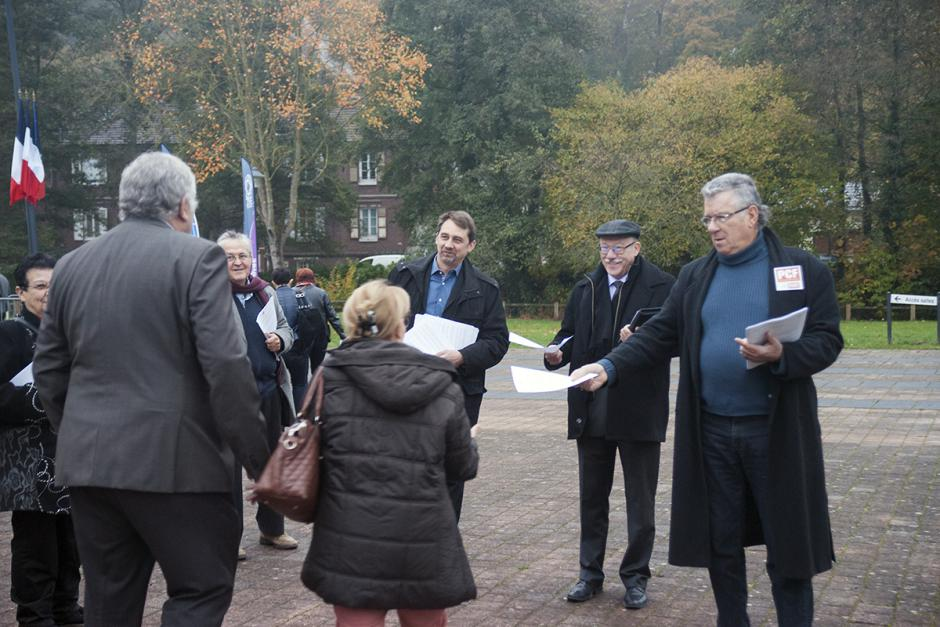 L'ADECR Oise dit non à la disparition des communes et des départements - Clermont, 5 novembre 2016