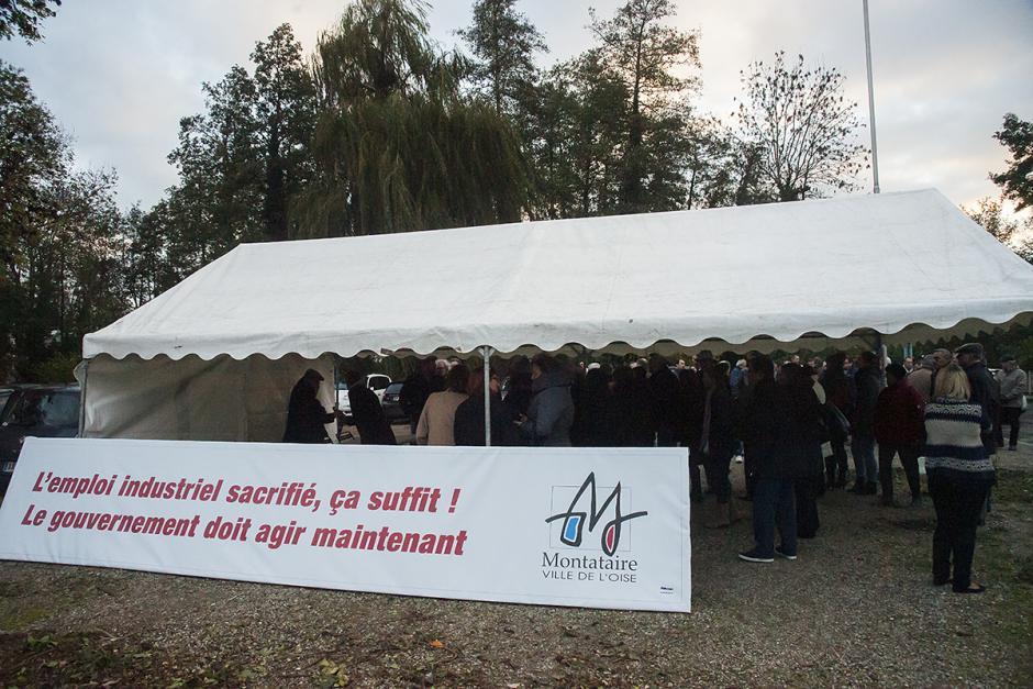 Réindustrialisation de Still-Saxby : chacun doit prendre sa part de responsabilité ! - Montataire, 15 novembre 2013