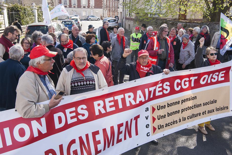 Justice sociale ! Améliorons le pouvoir d'achat des retraités ! - Creil, 30 mars 2017