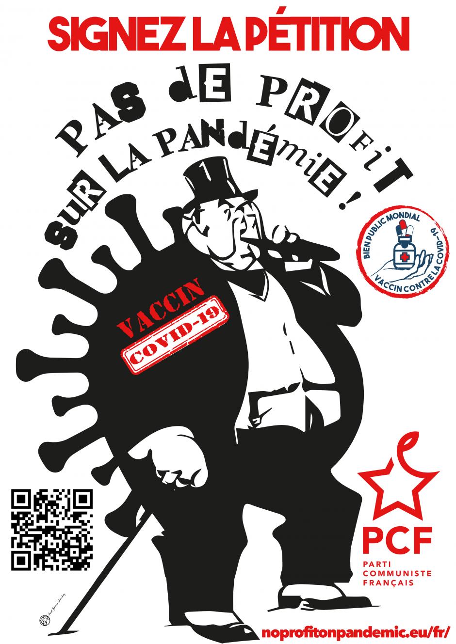 #PasdeProfitsurlaPandemie : rejoignez l'initiative citoyenne européenne !