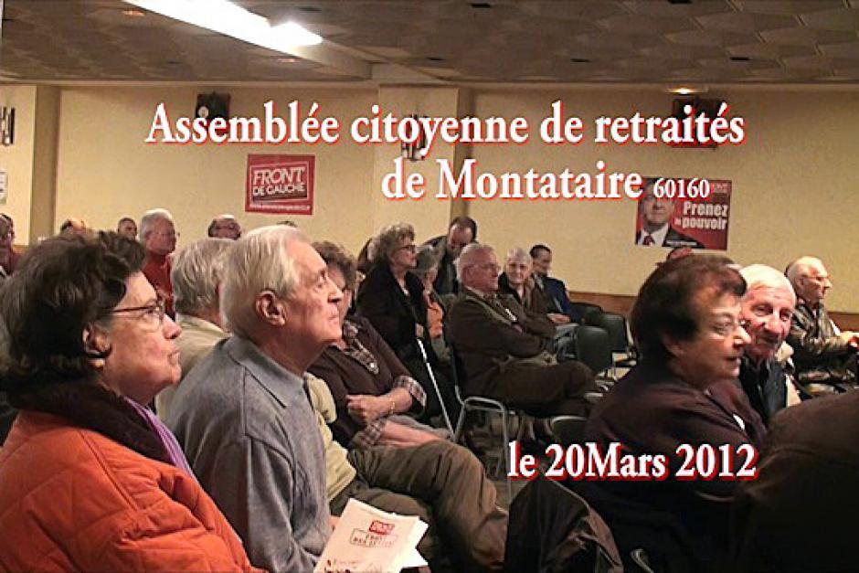 Assemblée citoyenne du Front de gauche - Montataire, 20 mars 2012