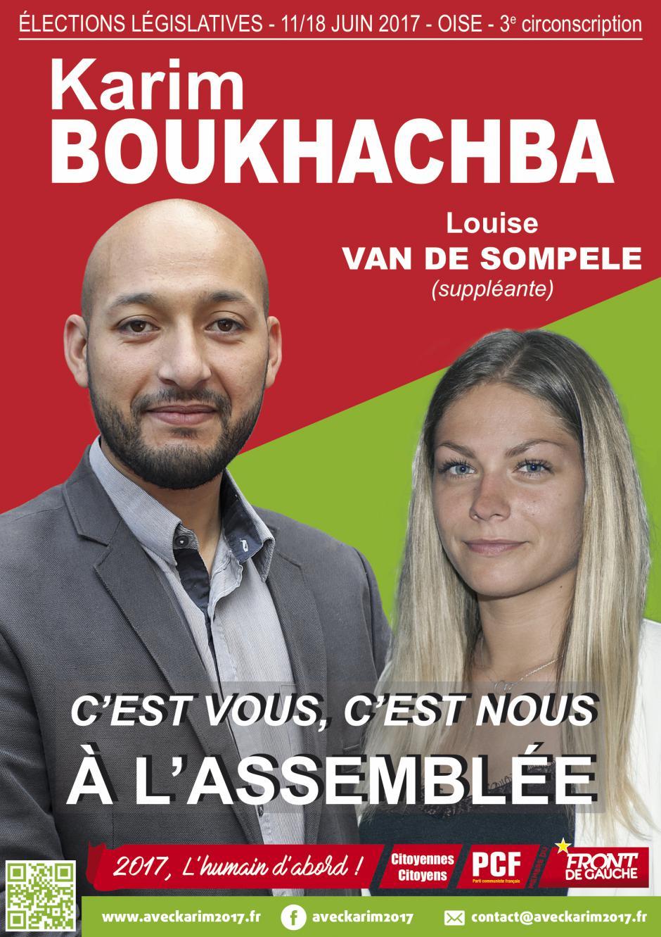31 mai, Méru - Réunion publique avec Karim Boukhachba et Louise Van de Sompele