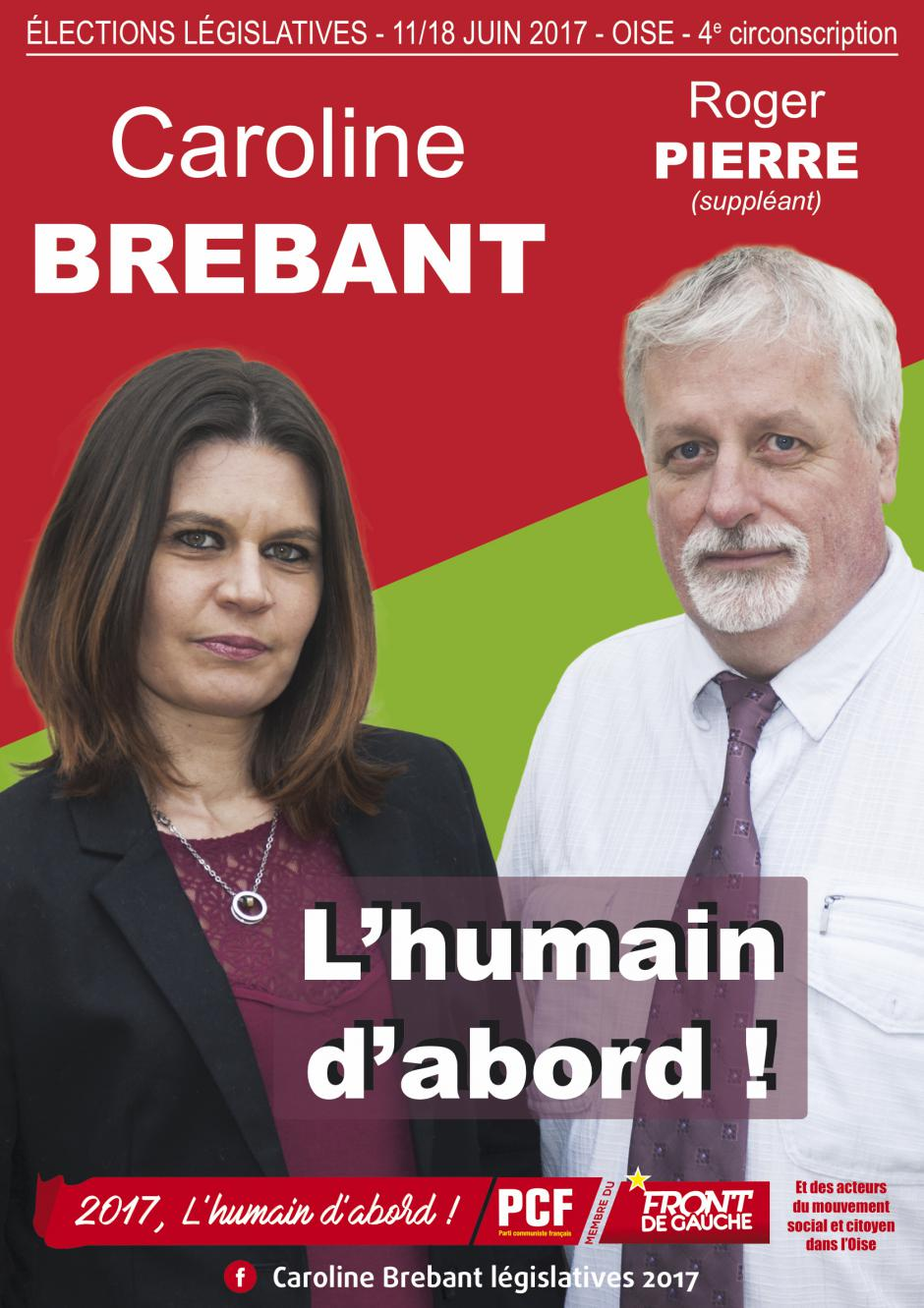 Législatives 2017 - 4e circonscription - Chantilly-Senlis