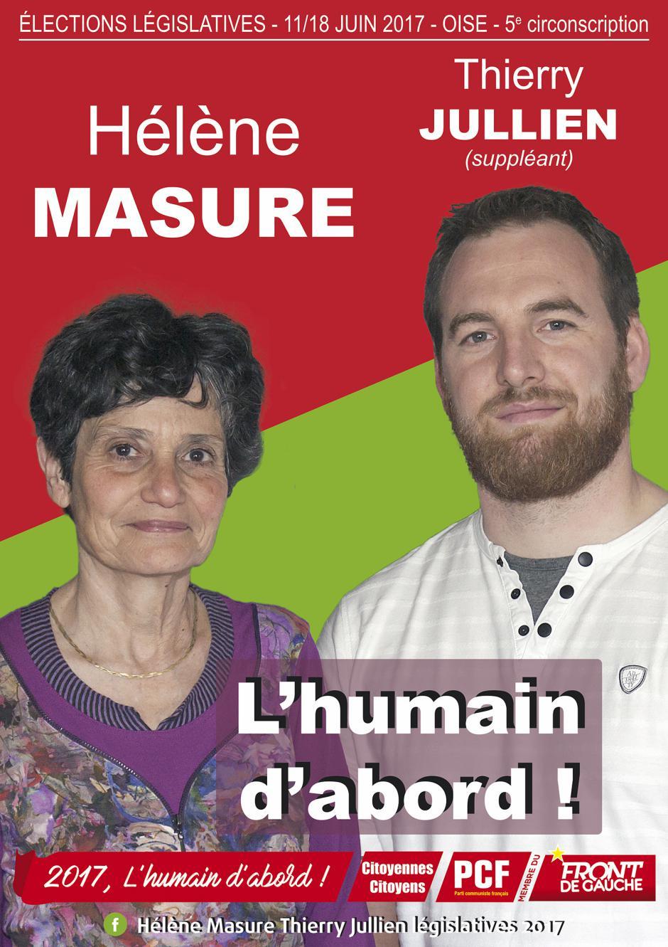 Législatives 2017 - 5e circonscription - Compiègne Sud-Crépy