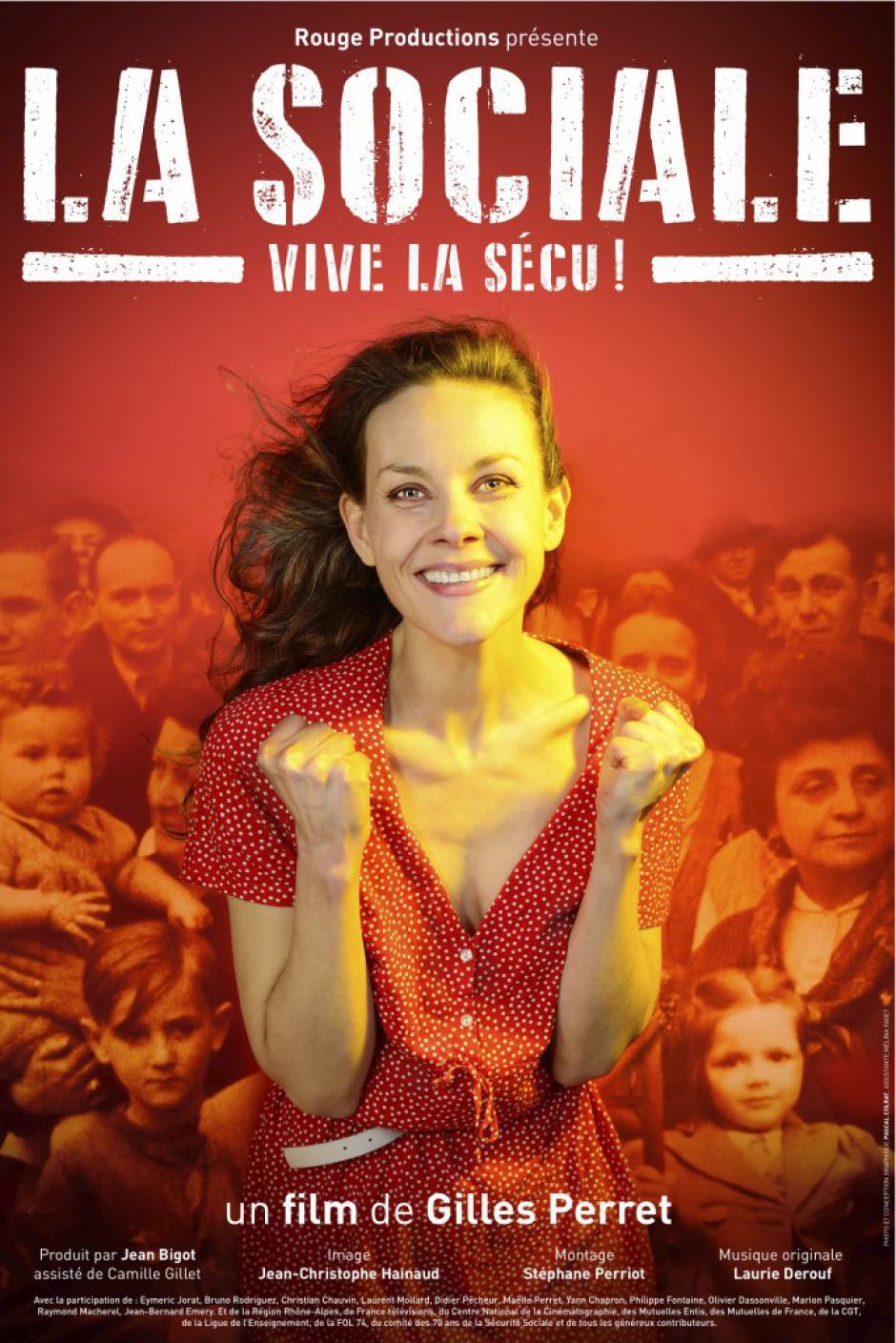 18 mars, Pont-Sainte-Maxence - Ciné-débat « La Sociale », avec Bernard Lamirand