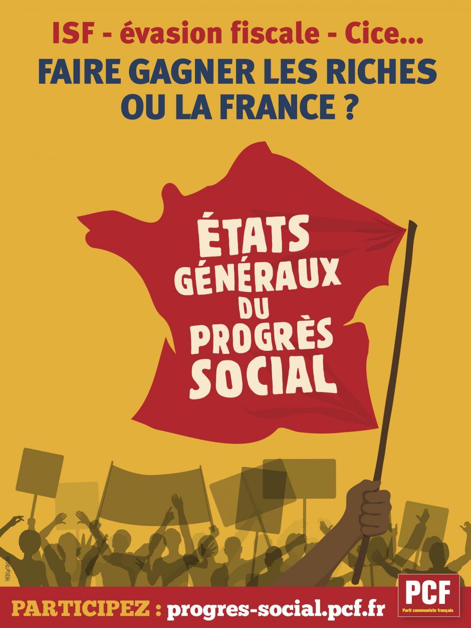 Il est temps d'engager un nouveau progrès social pour la France !