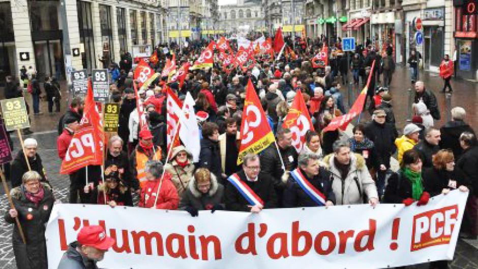 Les communistes des Hauts-de-France appellent les salariés à se mobiliser - 16 avril 2018