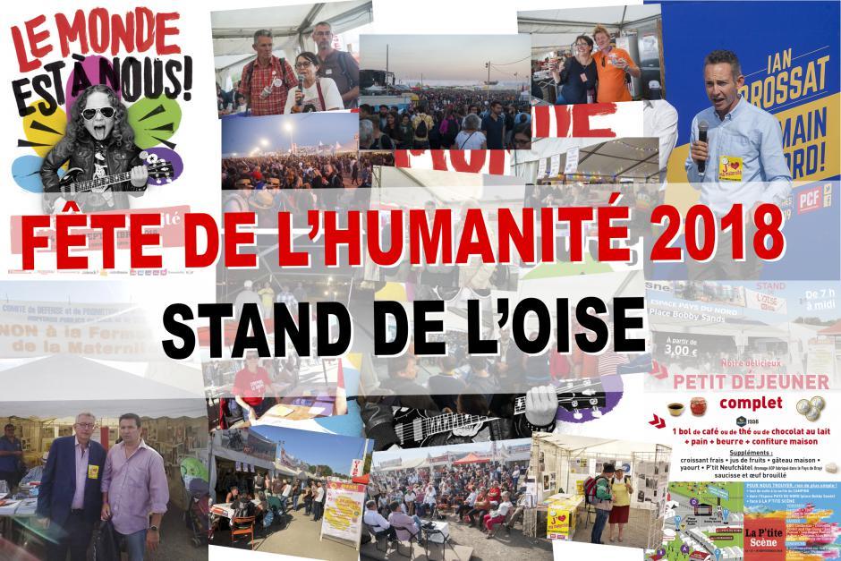 Le stand de l'Oise, un des cœurs battants de la Fête de l'Humanité ! - 14 au 16 septembre 2018