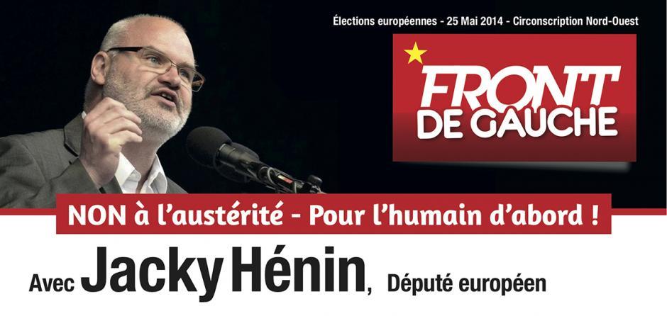 7 mai, Beauvais - Rencontre-débat avec Jacky Hénin