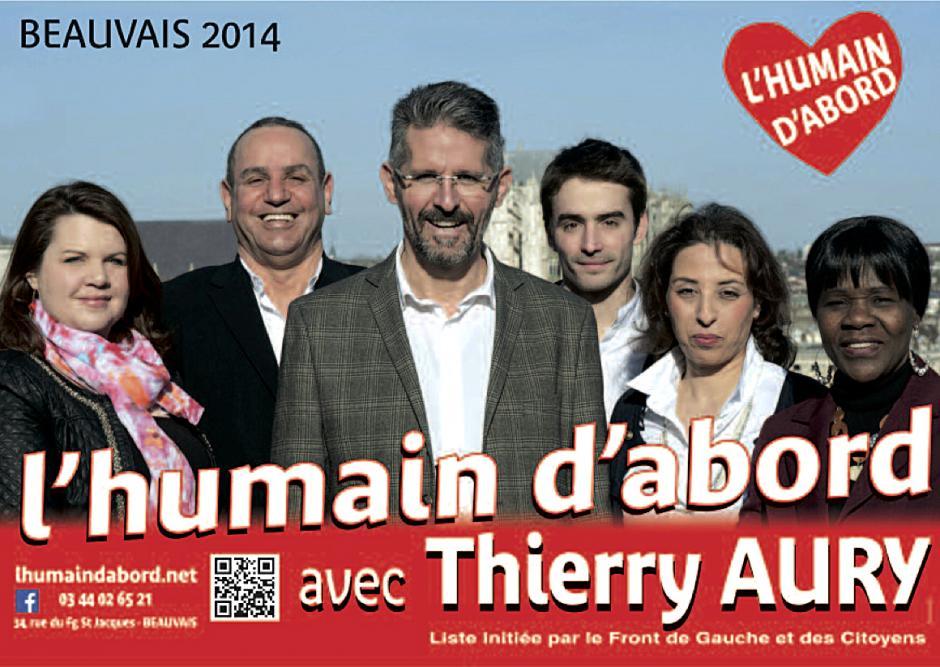 Élections municipales 2014 • Beauvais • Liste « L'humain d'abord »